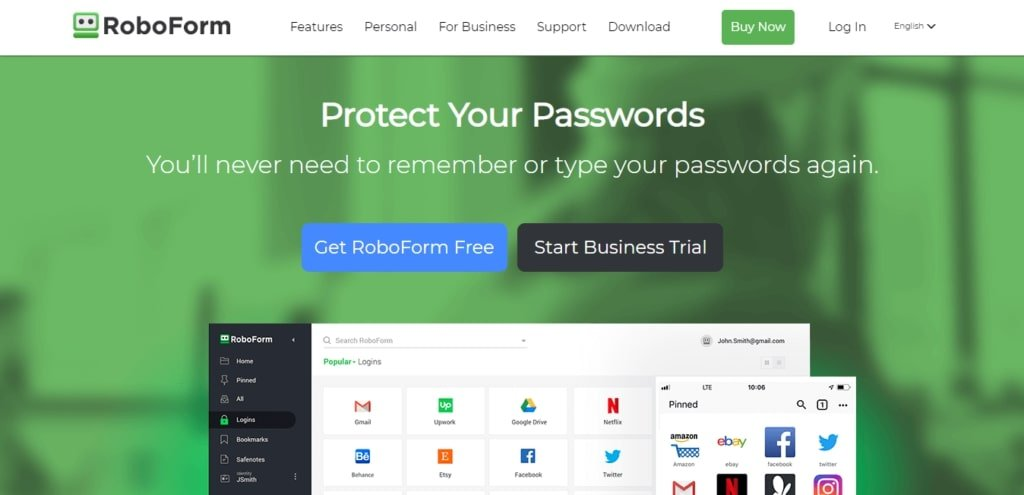 roboform A complete password manager tool