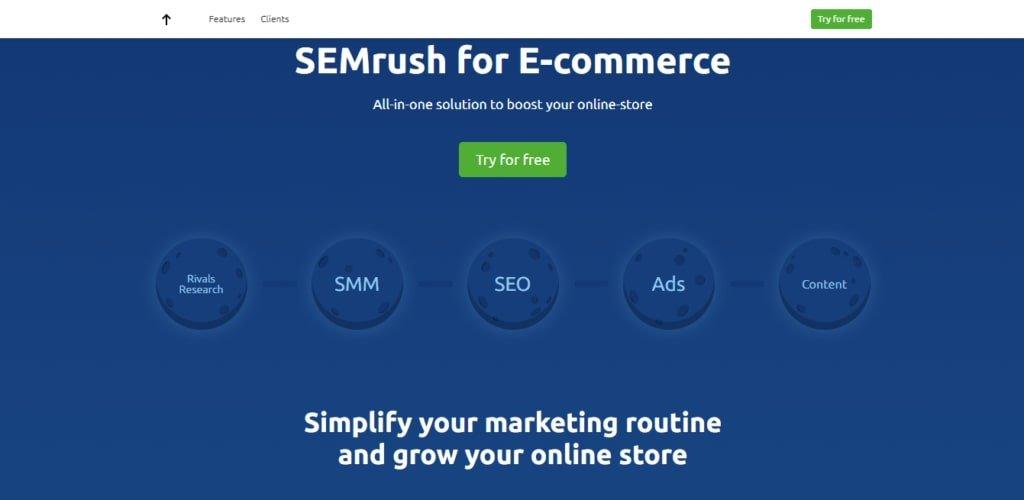semrush all in one seo tool