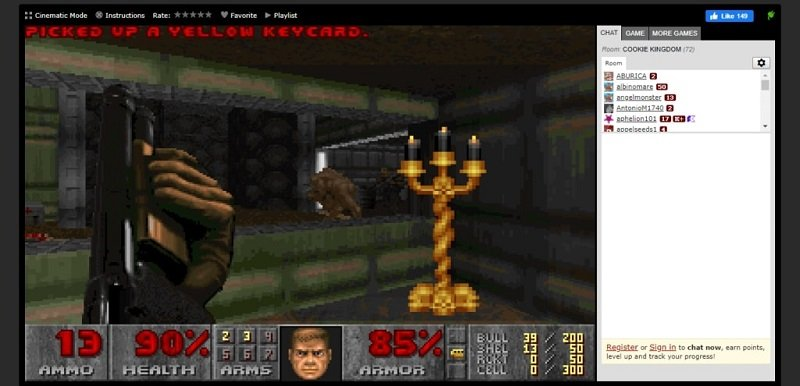 Doom: Horror Themed FPS Game