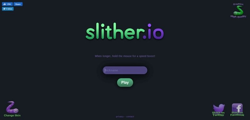 Slither.io - Blast from the Past