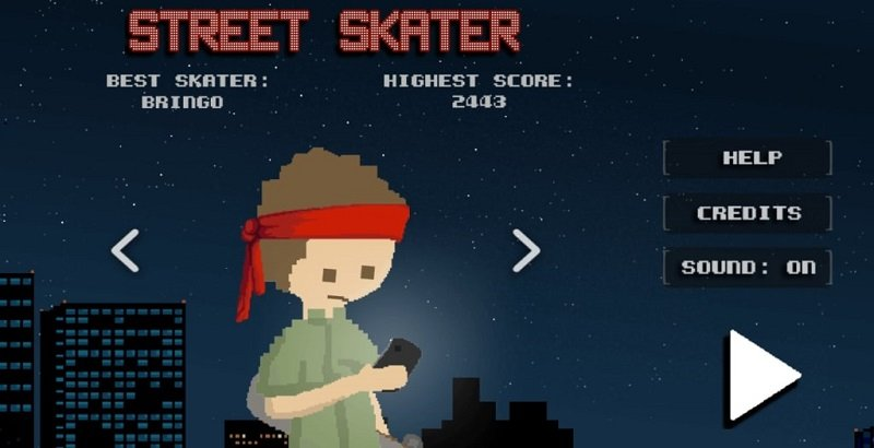 Street Skater: A Retro Style Skating Game