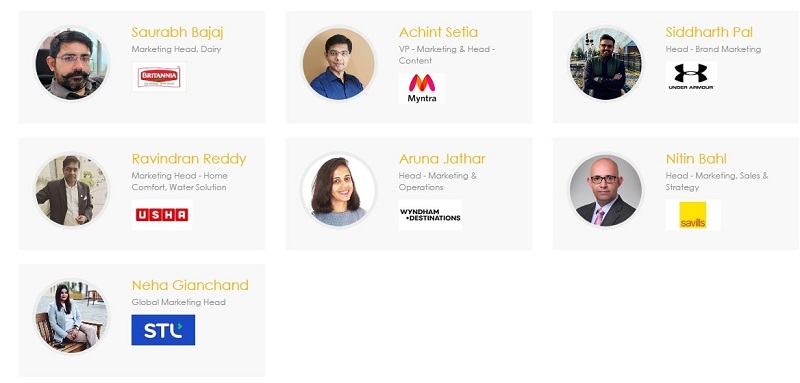 Speakers at Content Marketing Summit 2