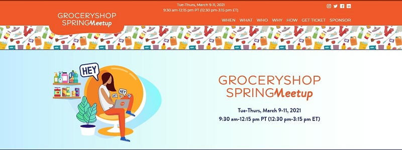 Grocery Shop Spring Meetup