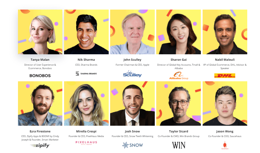 ecom world conference 2021 speakers
